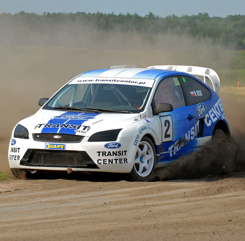 Transit Center Motorsport O Campeonato de Rallycross